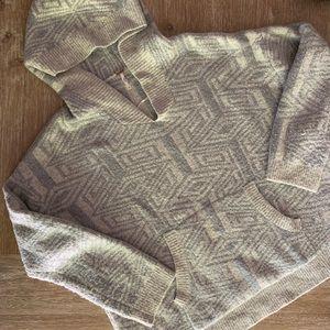 Free People Gray Cozy Sweatshirt